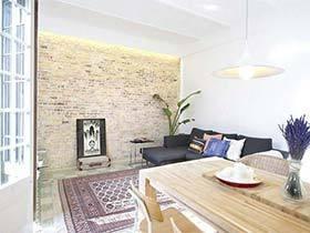 75㎡北欧风一居室图片  小清新的房屋