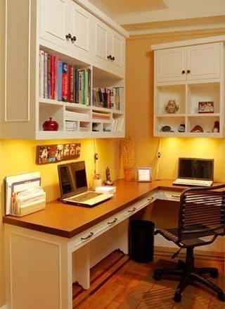 家庭书桌装修图片
