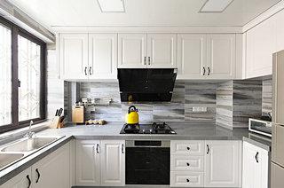 145平法式风格三居整体厨房装修