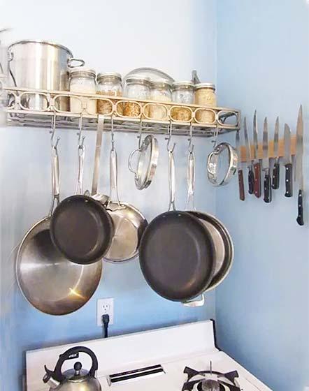 厨房收纳装修装饰效果图