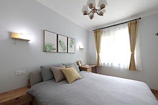 55平小两室装修主卧室设计