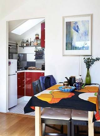 北欧风格餐厅设计平面图