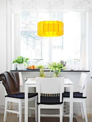 北欧风格餐厅设计装饰图