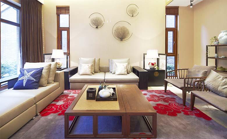 新中式客厅设计欣赏图