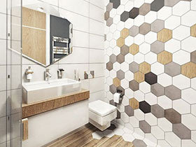 10个卫生间瓷砖装修效果图 浴室逼格造出来