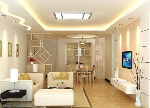 70平米两室一厅装修效果图 12万打造灵动生活空间