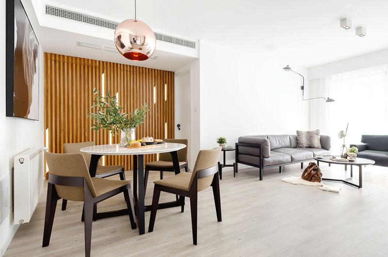 北欧风格两室两厅100平米装修效果图