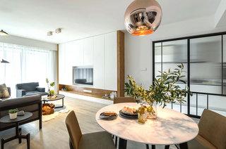 99平北欧风格二居餐厅装修图片