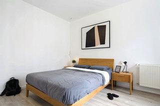 99平北欧风格二居主卧室装修