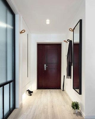 99平北欧风格二居入户门厅设计