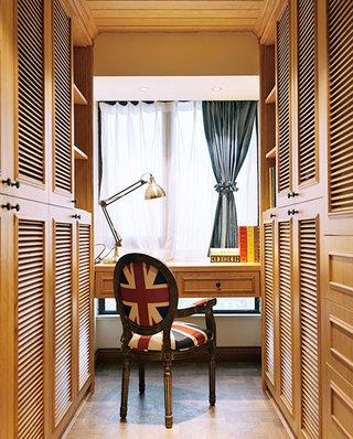 130平法式风格四居书房效果图片