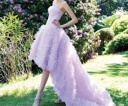 婚纱图片唯美 2017流行的五款婚纱风格