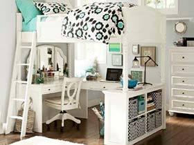 卧室分你一半  10个卧室书房装饰图