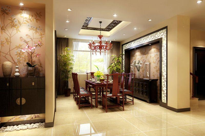中式餐厅装修,带你走进中国传统文化图片