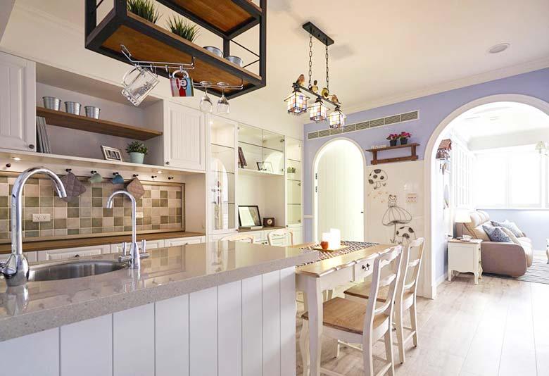美式风格一居室整体效果图