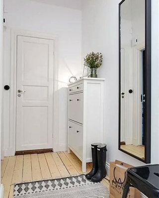 北欧风格玄关柜鞋柜图片