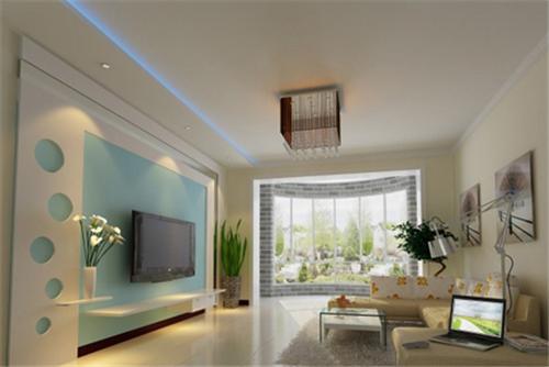 电视墙造型图片 装点出非同一般的室内设计