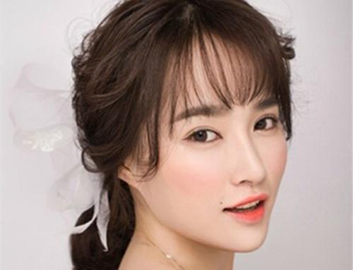 a发型可爱发型图片图片欣赏2017流行的新娘发翘翘短头发新娘图片
