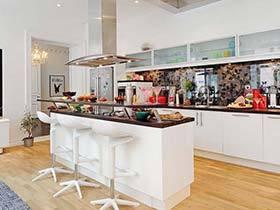 毫无油腻感  10款北欧风格厨房实景图
