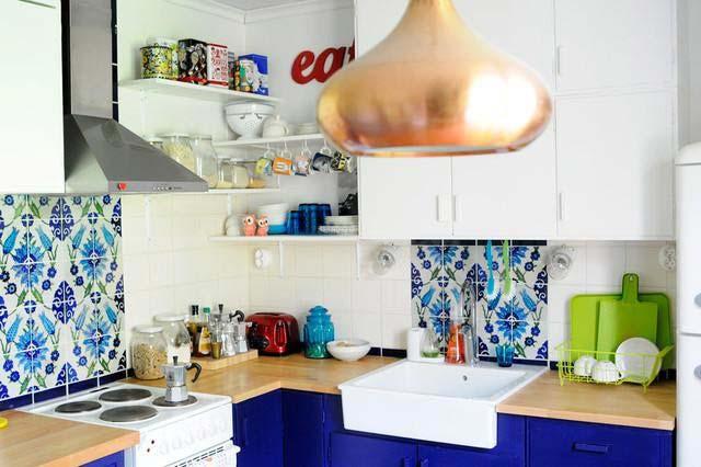 北欧风格厨房装修平面图