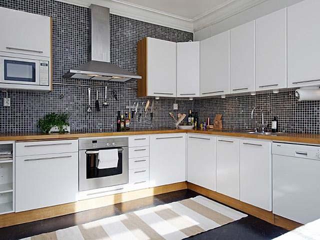 北欧风格厨房设计平面图