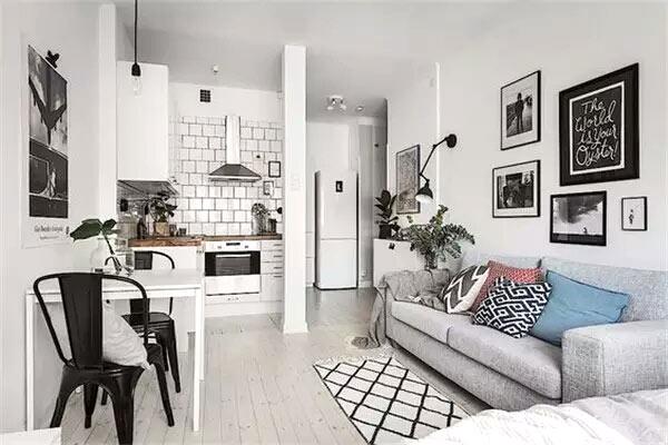 小户型迷你公寓一居室装修