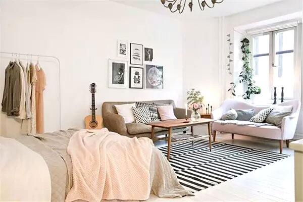 单身公寓一居小户型装修