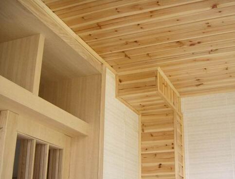 木工施工制作的家具主要是包括了厨房的橱柜,电视柜,衣柜,书柜,边柜图片