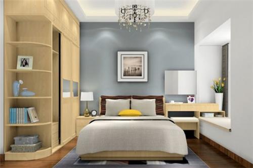 卧房装修效果图大全 2017精致卧房装修塑造完美生活空间图片