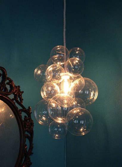 气泡吊灯设计平面图