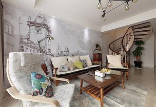 120平北欧风格装修复式美家 亮丽精致有品位2/10