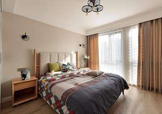 120平北欧风格装修复式美家 亮丽精致有品位9/10