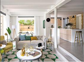 原木色郊外别墅装修效果图 超舒适空间设计