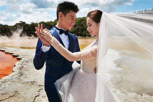 明星婚纱照_明星结婚照片好看吗 明星婚纱照欣赏