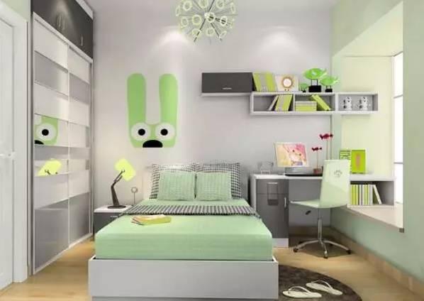 10平米儿童卧室装修效果图 儿童房卧室装修