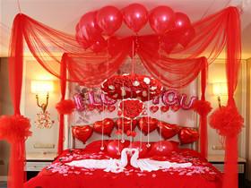 结婚新房布置气球装饰诀窍 怎样绑出好看的气球图片