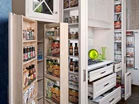 美食收纳术  10款橱柜收纳设计图