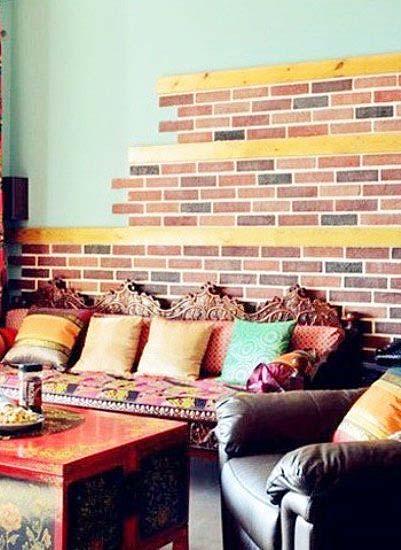多彩客厅装饰图片大全