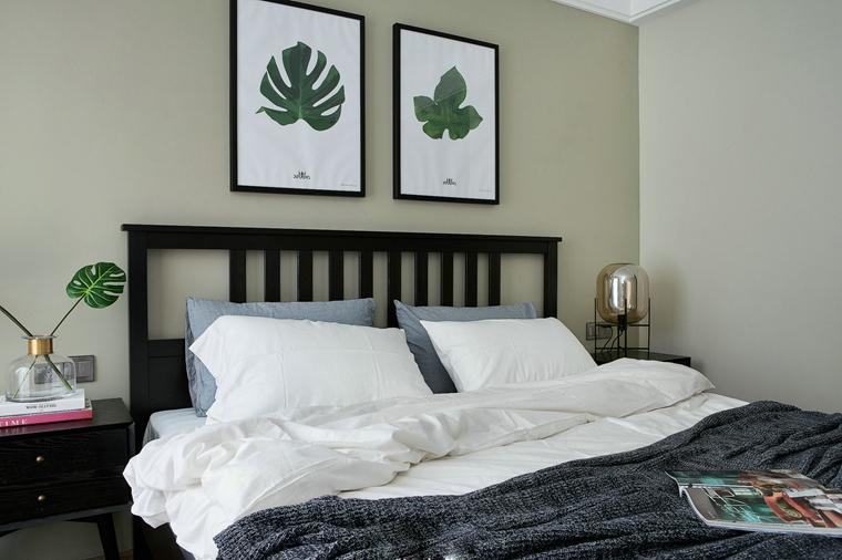 25万装90平简约风格美家卧室设计
