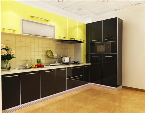 开放式小厨房装修效果图 开放式小厨房怎么设计
