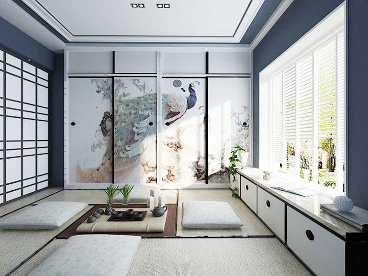 卧室榻榻米设计构造图