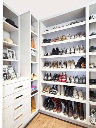 鞋柜布置欣赏图片