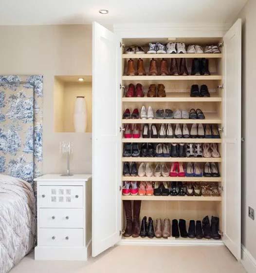 鞋柜设计实景图片