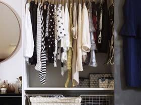 教你收纳大招  10款衣柜收纳装修图
