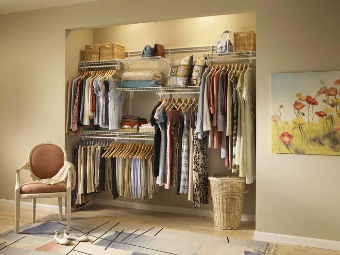 衣柜收纳设计欣赏图