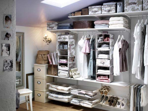 衣柜收纳设计构造图