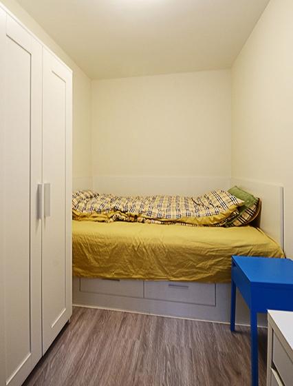 60平小户型装修小卧室效果图