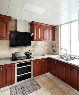 简美风格四居室装修厨房图片
