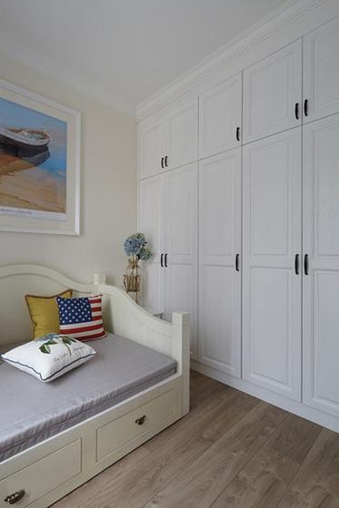 三室两厅美式风格装修次卧效果图