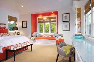 增加了一点点空间  10款卧室飘窗装修图3/10